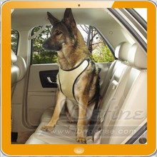Water-resistant polyester travel car dog harness
