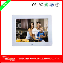 "Factory custom 7""/8""/10""/12""/15""/21"" Inch LCD Digital picture Frame super slim 10 inch digital photo frame with CE/ROHS/FCC/BSCI"