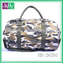 Chunky weekend printed floral overnight canvas army duffle bag for travelling