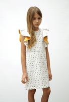 Girl Boutique Summer Princess cotton Dress Children ruffle Girl Dress
