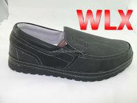 2015 men loafer shoes men gray fashion leather shoes soft leather men dress shoes