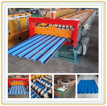 Russia type automatic corrugated roof roll forming machines/cold color steel roll forming machine