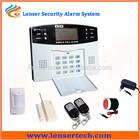 Hot sistema de alarme home sms sem fio detector de fumaça do sistema ls-gsm-006
