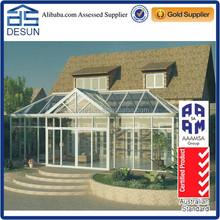 Prefabricated aluminium glass House sunroom