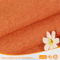 100% Poly Imitation Linen for Sofa and Curtain Fabric