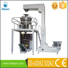 Automatic dried leeches packing machine with multihead weigher DS-420AZ