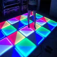 professional Music DMX control portable acrylic led floor tile light used dance floor for sale