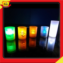 new products Full colour remove controlglowing candle