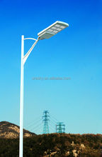 Height 3-4 Meters 42W Led Double Arm Solar Street Lighting
