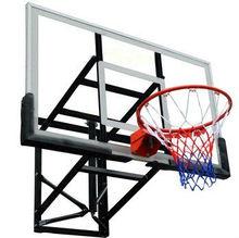 Bison Ultimate Adjustable Outdoor Glass Backboard Basketball System