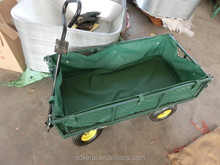Farm & garden Utility Cart with Folding Sides, 400 lb