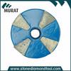 4 Segments Blue Color Medium Bond Metal Grinding Hard Disc