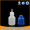 With FDA certification 3ml e juice bottles with childproof cap in stock