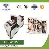 High quality ceramic digital flatbed printer dual heads uv printer