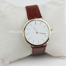 China watch manufactures quartz movement for men 316L full stainless steel watch waterproof leather watch