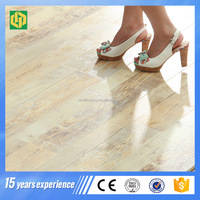 Hot selling 12mm 14mm 15mm laminate flooring with best price