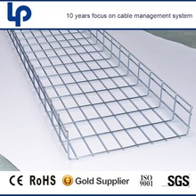 sgs ce and rohs cable certificated green Electro galvanized Network Cable Tray