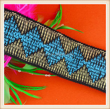 Jacquard underwear elastic band for underwear dress and bags decoration for wholesale