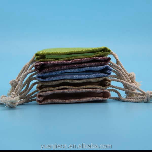 High quality drawstring jute sacks for coffee