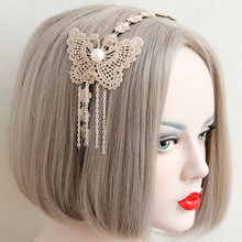 MYLOVE vintage butterfly hairbands for women bridal hair accessory MLFG27