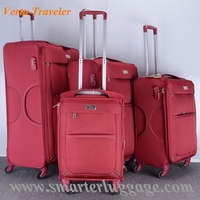 2015 - 2016 New Designs Soft Lightweight Suitcase With High Quality