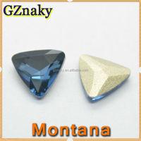23*23mm Color Montana triangle shape jewelry