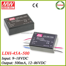 Meanwell DC to DC step-up converter LDH-45A-500