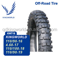 110/100-18 off road tires for Peru