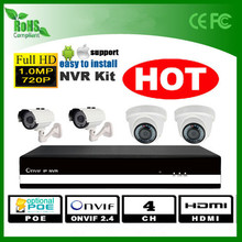 960p 4ch Security camera and nvr CCTV NVR system surveillance cameras systems