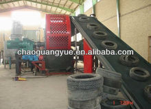 Old tire rubber powder production line/Old tire recycling machine/