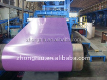 China construction material Color Coated Galvalume metal Roofing Coil