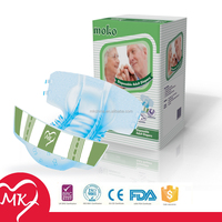 2015 New-designed ultra thick disposable wholesale cartoon big adult baby diaper punishment