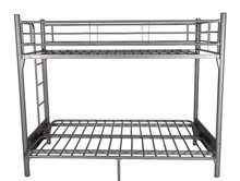 OEM custom modern metal bed iron wrought bunk bed with foldable mattress frame to a sofa for home, dormitory or school use