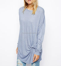 CHEFON Twist front detail latest chinese tunic for women