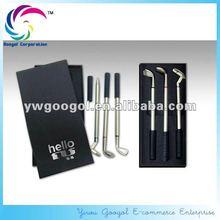golf pen set, Metal golf pen set, golf pen