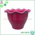 diverse cor brilhante imitação vaso de mármore atacado