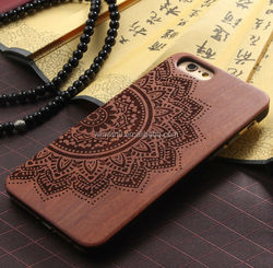 Top Sale Cell Phone Case Cover For iPhone 6, Wholesale Case raw wooden case for iphone6