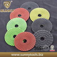 super quality Dry flexible diamond polishing pad for granite marble and concrete