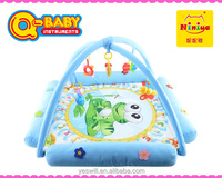 NINIYA Plush musical baby activity gym mats with rattles wholesale