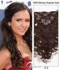 Premium Human Hair Clip In Extension, Expensive Human Hair Weaves, Custom Hair Extension Box Packaging