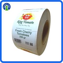Eco-friendly Printing Good Quality Self Adhesive Paper Sticker, Custom Waterproof Logo Label of Graded Goods