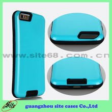Hidden Holder pc + tpu Case for Apple 6 ,hard plastic for apple 6 mobile phone case with High Quality
