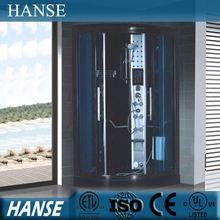 Hs-sr071 ducha de vapor sala de negro / masaje sala de vapor ducha / baño de vapor cubículo