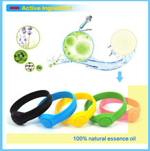 Eco-friendly silicone mosquito repellent band for baby,silicone band