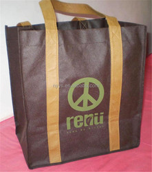color printed non woven shopping bags