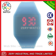 R0464 Mix Colors Simple Touch Led Watch Silicone man watch