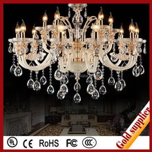 Serviceable Diffuser colored glass chandeliers