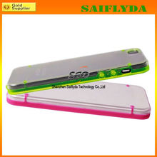 high quality glow in light transparent bumper for iphone 5c