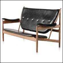 Finn Juhl, replica upholstered model 45 lounge chair for living room 2 seater 2015 new design style model 45 chair