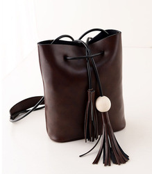 Fashion lady shoulder bag cross body bag tassel bags